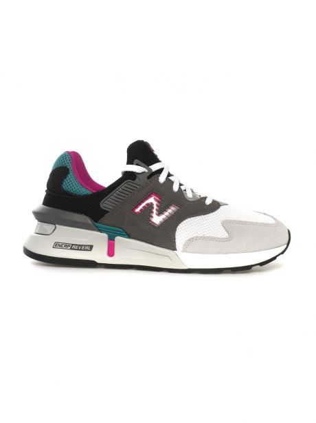 New Balance Sneakers 997 Sport grey/green/fucsia