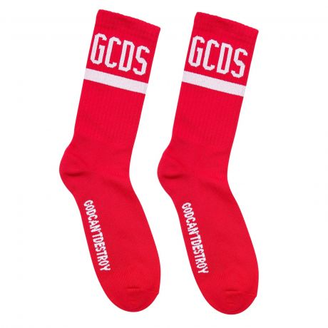 Logo socks red
