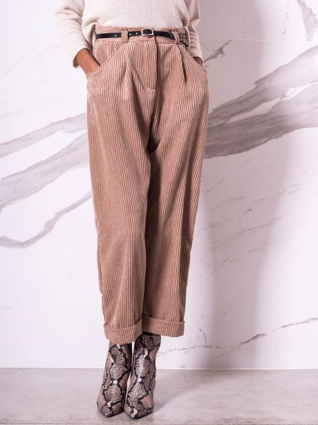 Imperial Pantalone vellutto a coste