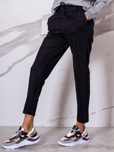 Only Pantalone in suede