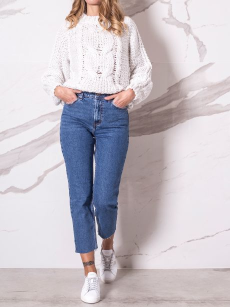Only Jeans vita alta straight fit