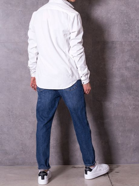 Pgrax Jeans carrot fit con strappi