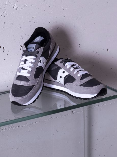 Saucony Sneakers Uomo Jazz original dark grey white