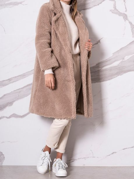 Susy Mix Cappotto teddy monopetto