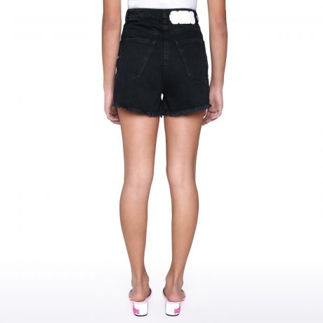 GCDS Shorts neri denim