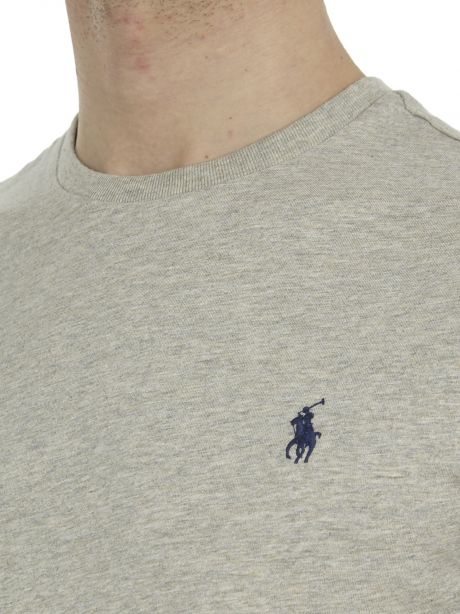 POLO RALPH LAUREN Maglietta in cotone Custom Slim-Fit Taylor Heather